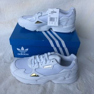 NEW IN BOX Adidas Falcon Leather Sneakers